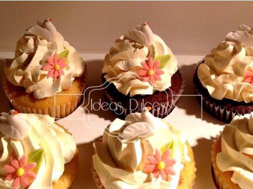 Cupcakes para Primera Comunión