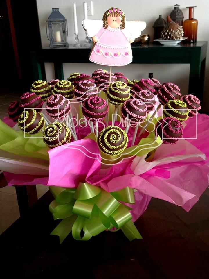 Primera comunion angelitas ideas dulces - Ideas para mesas dulces de comunion ...