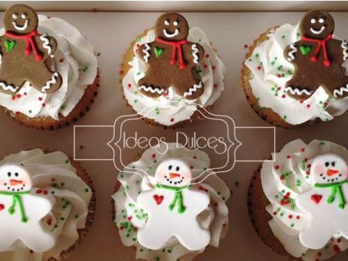 Caja x 12 Cupcakes de Navidad