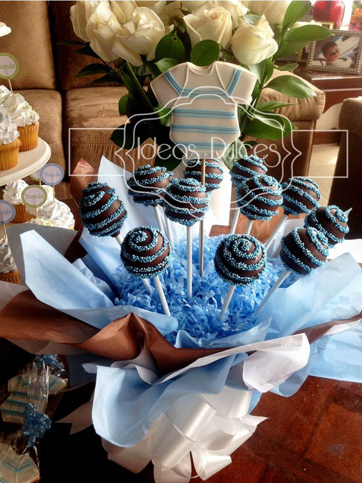 Baby shower ni o ideas dulces for Mesa baby shower nino