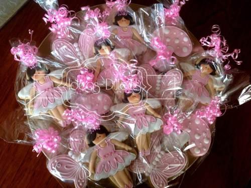 Galletas de Hadas en rosa