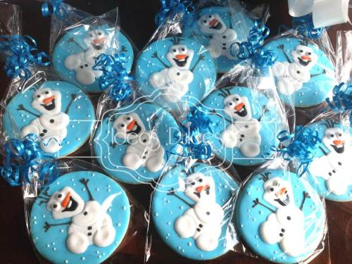 Galletas inspiradas en FROZEN