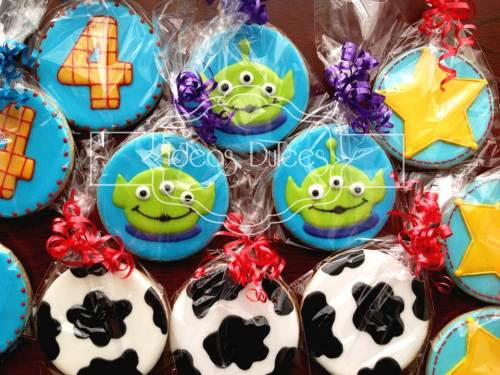Galletas inspiradas en TOY STORY
