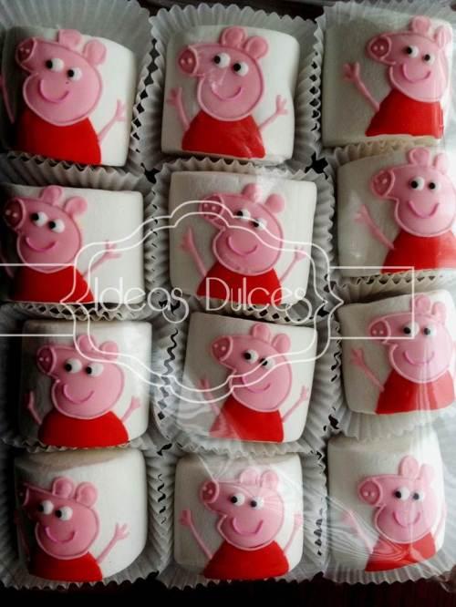 Masmelos pasaboca inspirados en PEPPA PIG