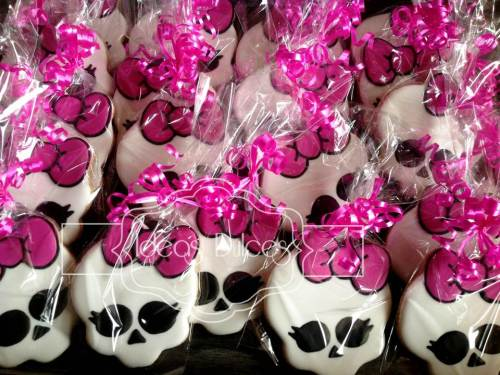 Galletas para fiesta temática de Monster High