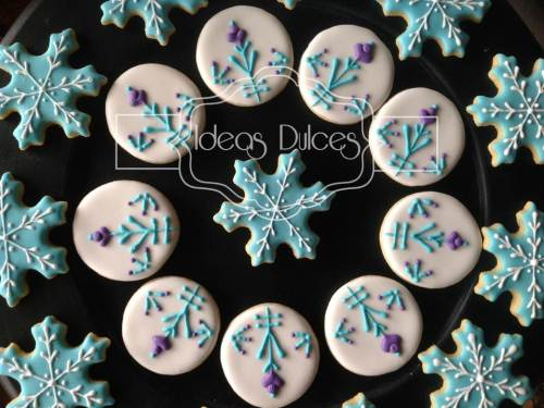 Mini-Galletas de Frozen