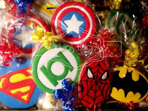 Galletas de Superhéroes de Marvel