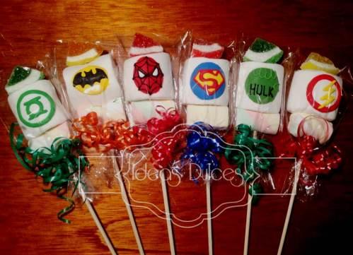Masmelos de Superhéroes de Marvel