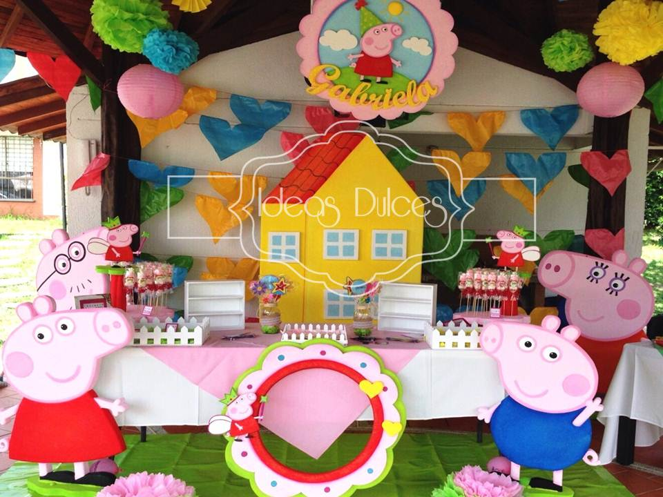 Fiestas infantiles peppa pig salones jardines peppa pig for Decoracion de jardines para fiestas