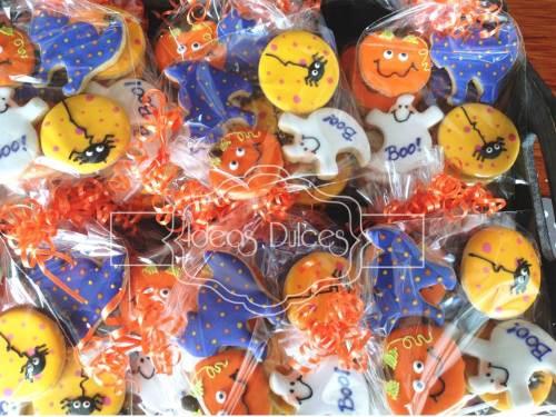 Galletas Mesa Dulces fiesta de Halloween