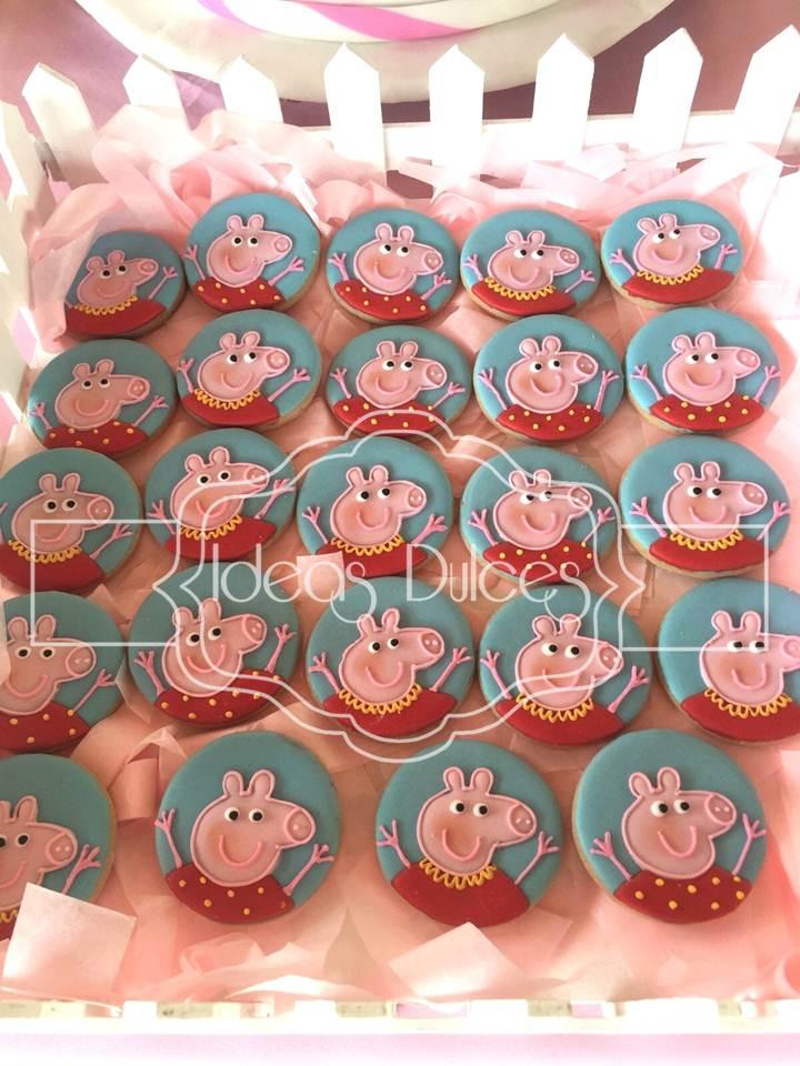 Galletas Decoradas Peppa Pig