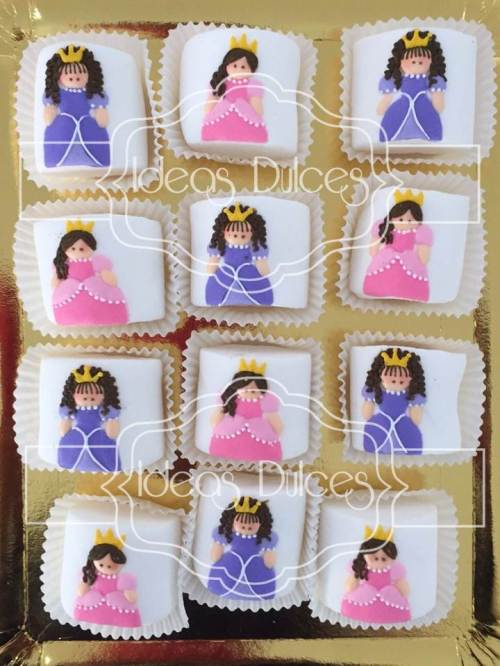 Masmelos para Mesa Dulce para fiesta temática de Princesas Disney
