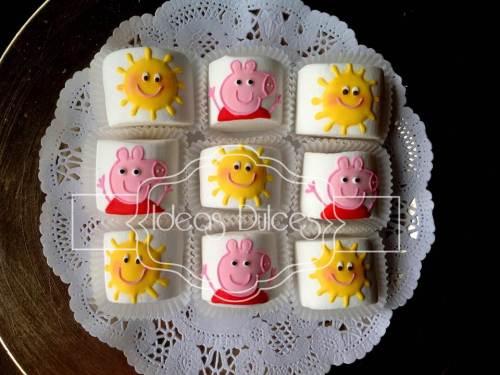 Masmelos de Peppa Pig para Mesa Dulce