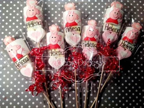 Masmelos  de Peppa Pig personalizados