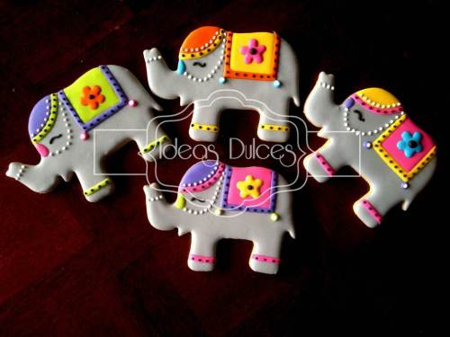 Cumpleaños con elefantes de la India