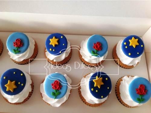 """Cupcakes inspirados en """"El Principito"""""""