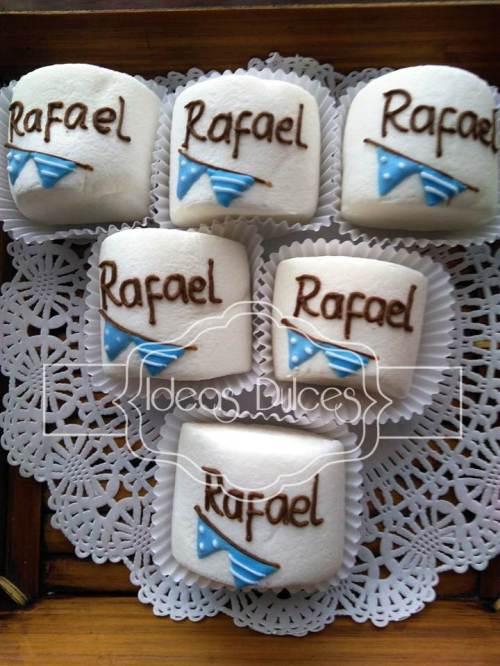 Masmelos pasaboca para el Bautizo de Rafael