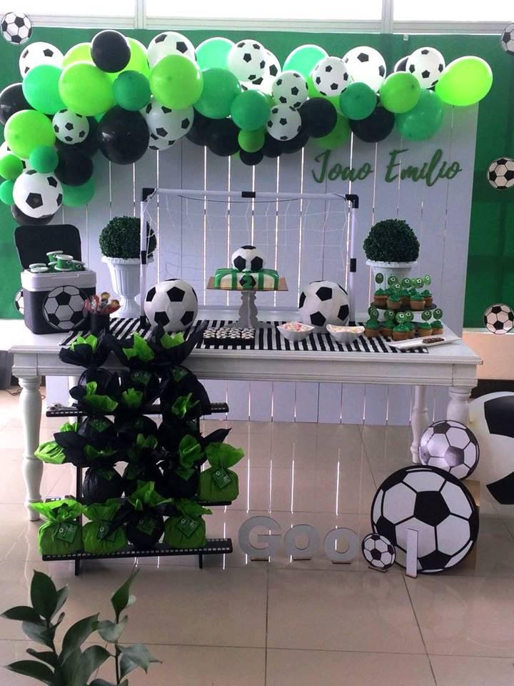 Balones De Fútbol Para El Cumpleaños De Joao Emilio Ideas